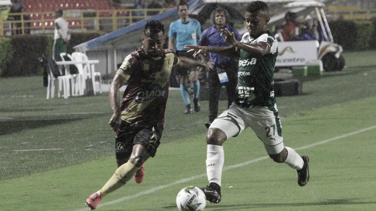 Deportes Tolima y Deportivo Cali empataron por la primera fecha de cuadrangulares