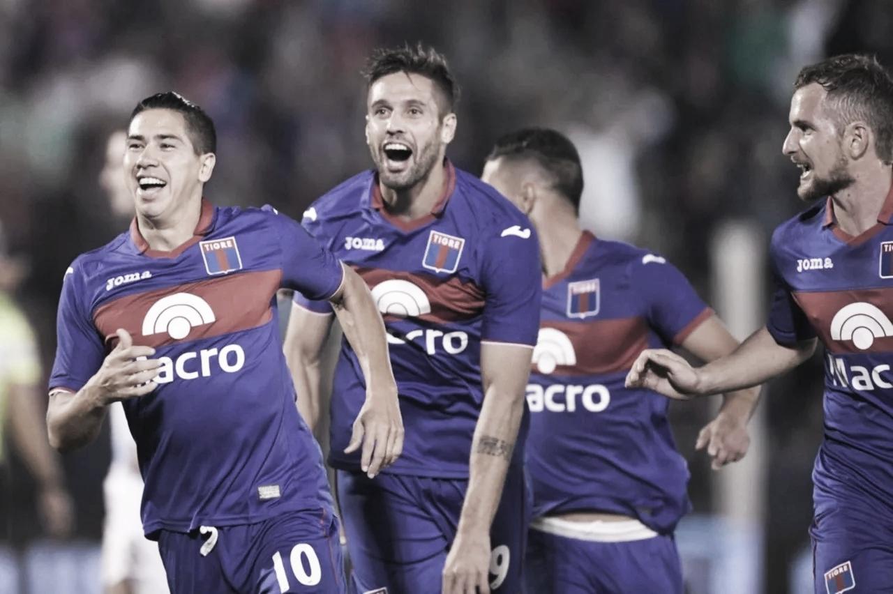 Tigre dio una exhibición de fútbol y aplastó 5-0 a Atlético Tucumán