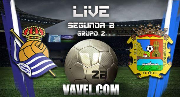 Resultado partido Real Sociedad B - Fuenlabrada en directo online