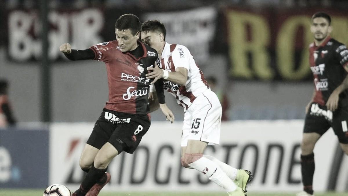 Como un extranjero: River Plate de Uruguay defendió el cero frente a Colón de Santa Fe