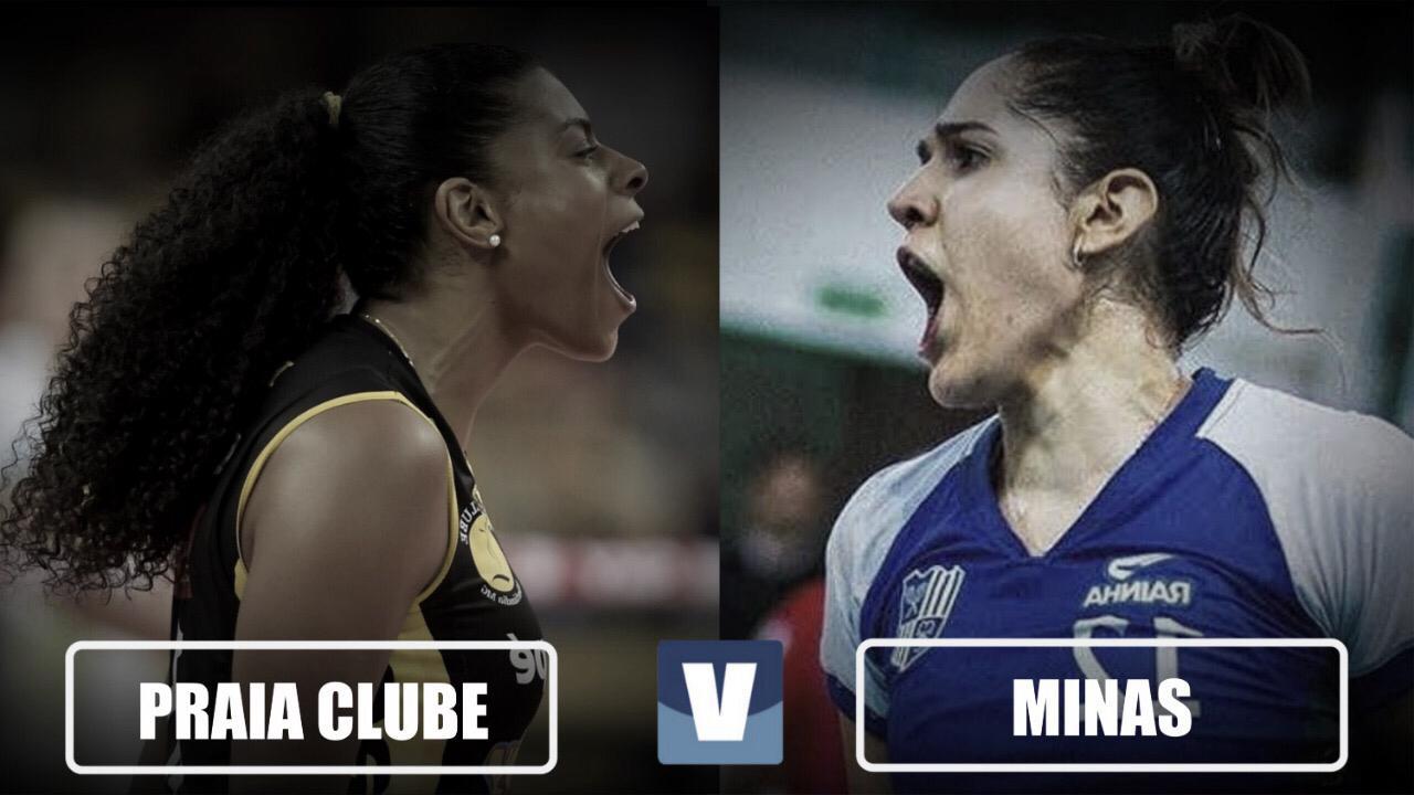 Resultado Dentil/Praia Clube x Minas pela Superliga Feminina (2-3)