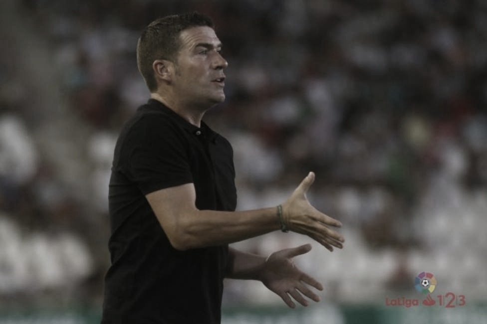 """Luis Carrión: """"Ni cuando gano pienso que voy a estar en Primera ni cuando pierdo en Segunda B"""""""