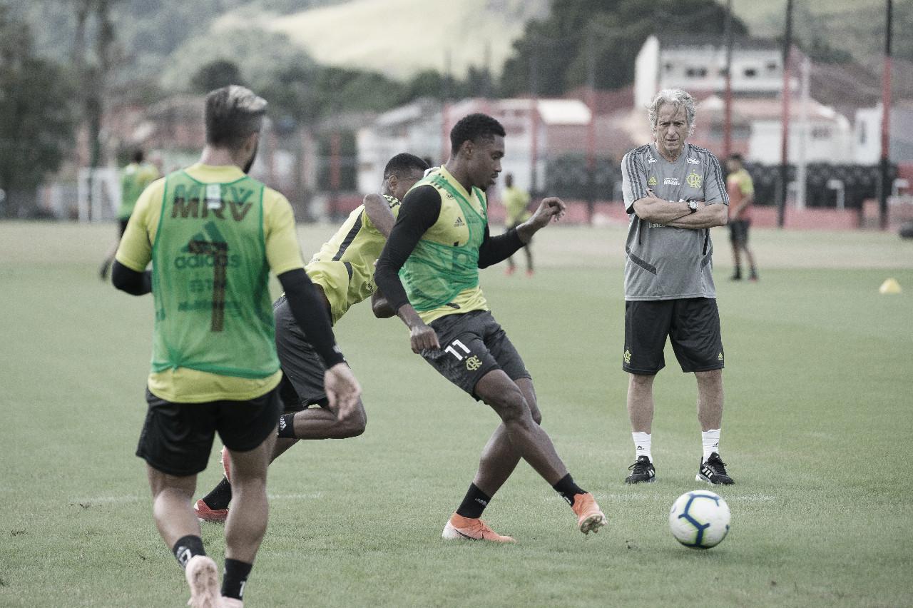 Primeiro teste de Jorge Jesus: Flamengo e Madureira farão jogo-treino na Gávea
