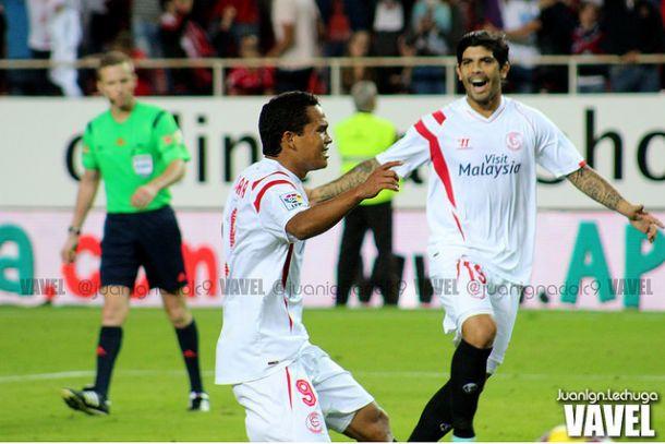 Cuatro futbolistas del Sevilla en el once ideal de la UEFA esta semana