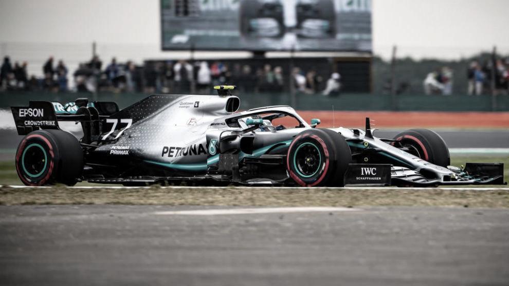 Bottas largará primero en Silverstone