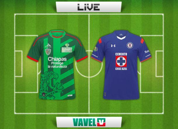 Resultado Chiapas - Cruz Azul en la Liga MX 2014 (0-0)