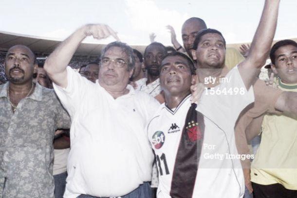 Romário volta a criticar gestão de Roberto Dinamite