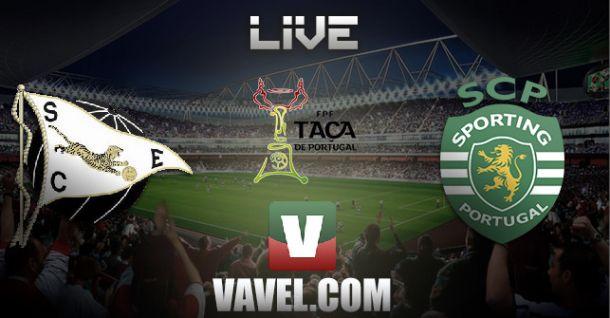 Espinho vs Sporting de Portugal, Taça de Portugal en vivo y en directo online