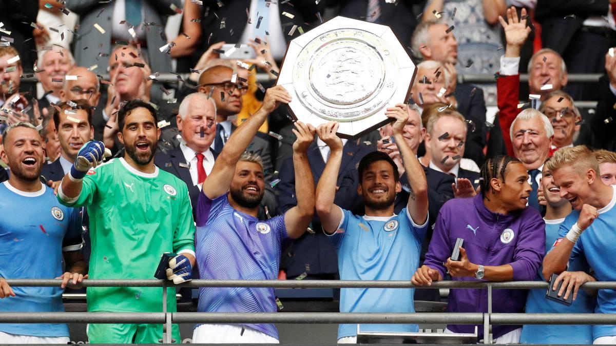 Man City vence a Community Shield