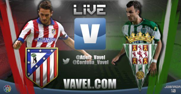 Resultado partido Atlético de Madrid vs Córdoba en vivo y en directo online