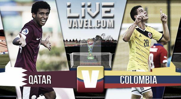 Resultado Qatar - Colombia en el Mundial Sub-20 2015 (0-1)