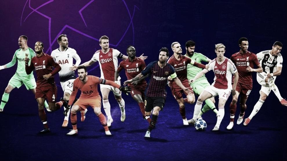 Los nominados a los premios UEFA