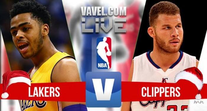 Resultado Los Angeles Lakers 111-102 Los Angeles Clippers na NBA 2017