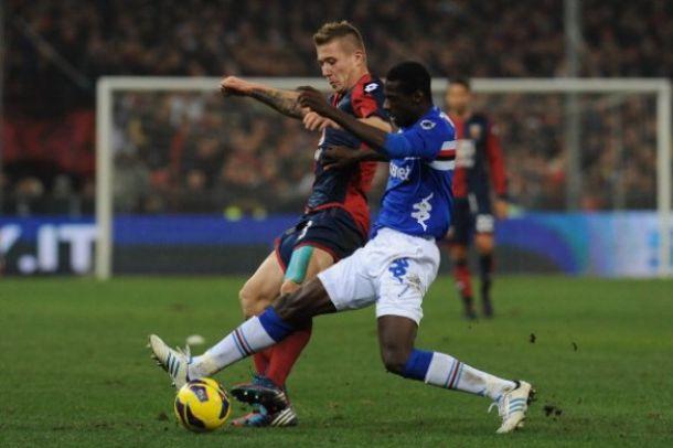 Sampdoria - Genoa: luci a Marassi