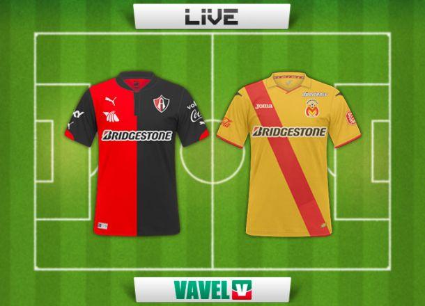 Resultado Atlas - Monarcas Morelia en Liga MX 2015 (2-1)