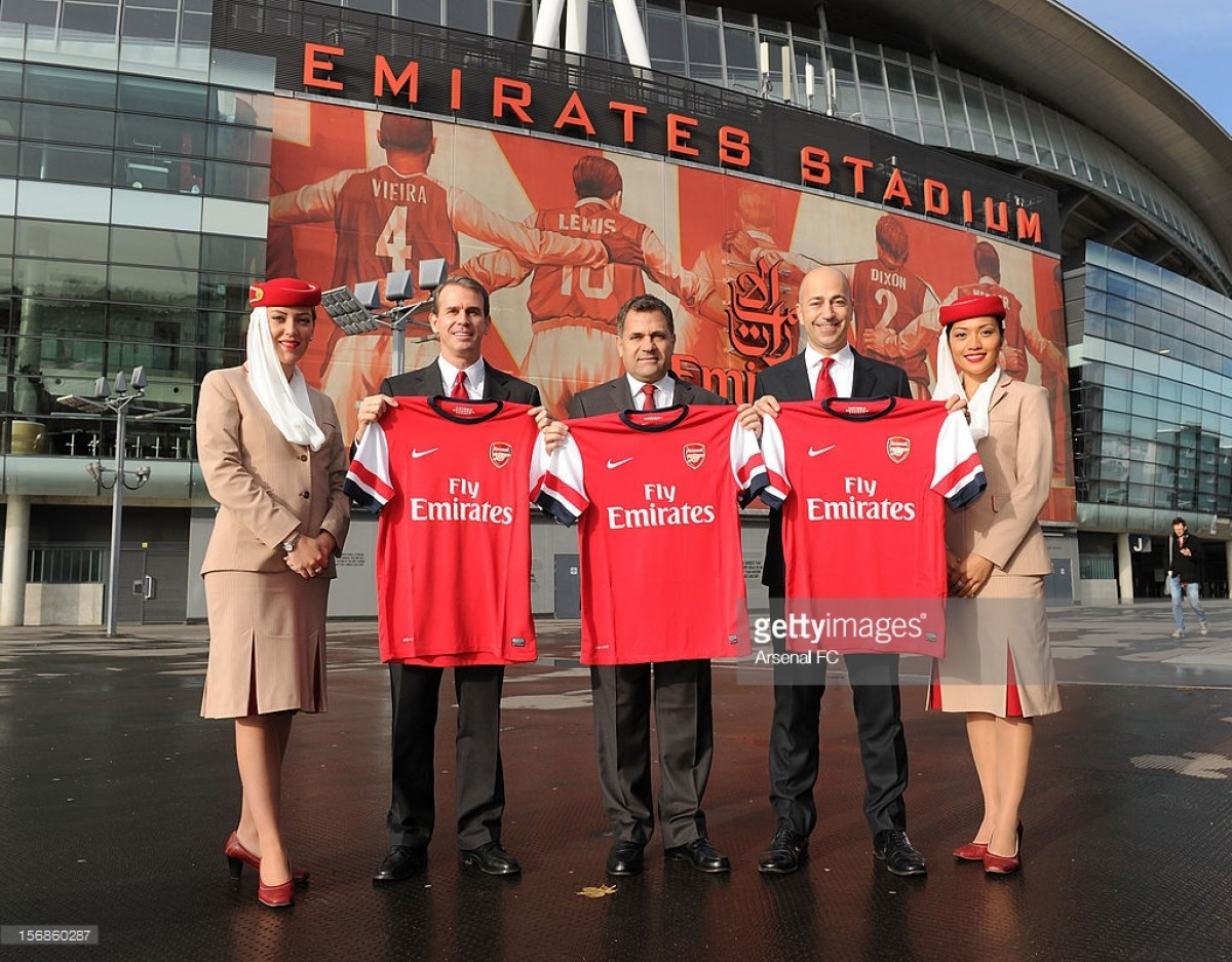 Arsenal and Emirates announce five-year contract extension