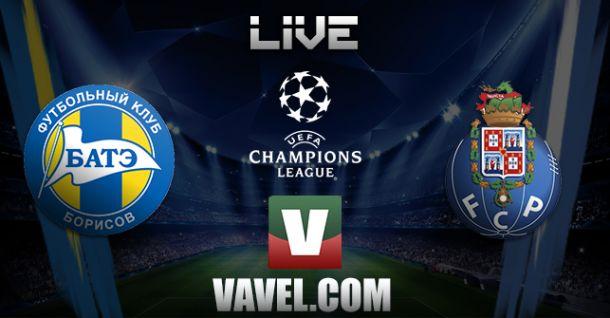 BATE x Porto    na Liga dos Campeões