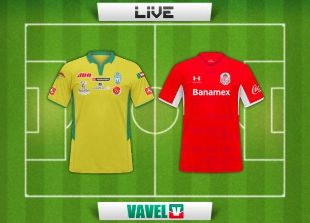 Resultado Mérida - Toluca en Copa MX Clausura 2015 (6-1)