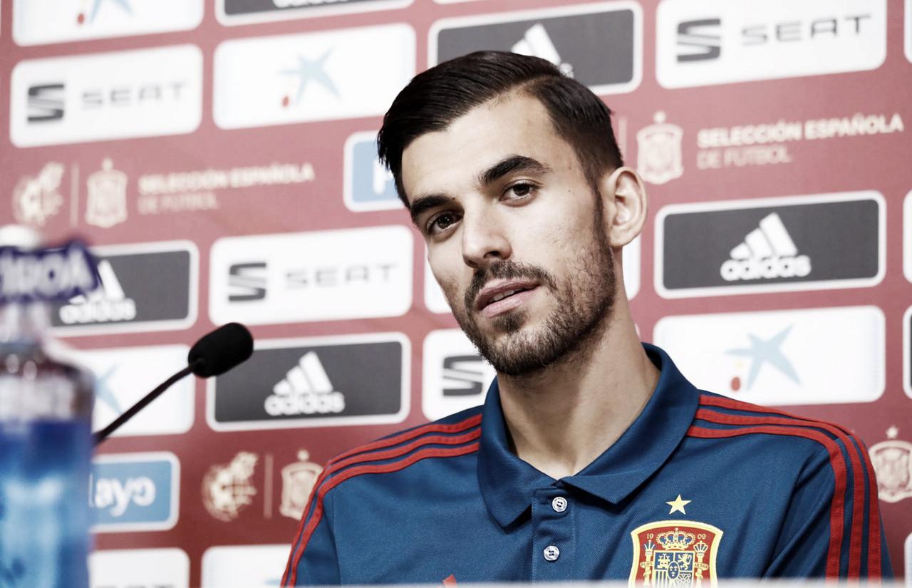 """Dani Ceballos: """"Jugar la Eurocopa y los Juegos Olímpicos sería un sueño"""""""