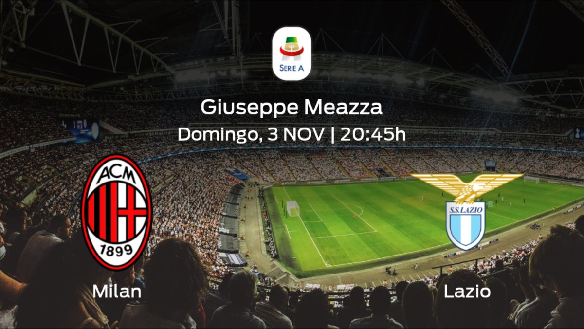 Milan vs Lazio EN VIVO y en directo online en Serie A 2019