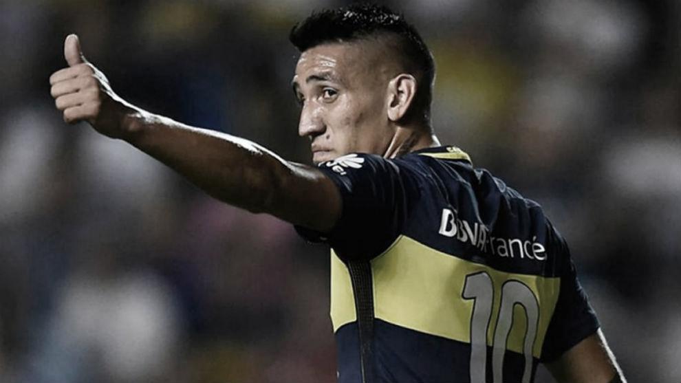Ricardo Centurión y un guiño a Boca