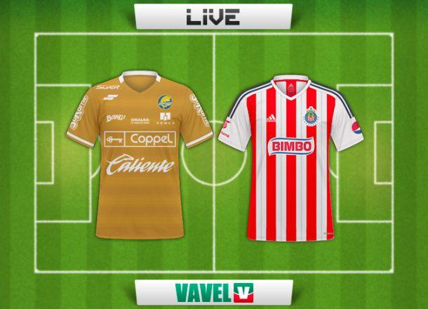 Resultado Dorados de Sinaloa - Chivas en Copa MX 2015 (1-0)