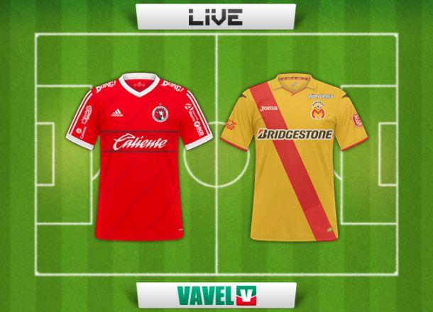 Resultado Xolos de Tijuana - Monarcas Morelia en la Liga MX (4-2)
