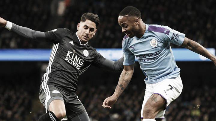 Resumen Leicester 0-1 Manchester City en Premier League 2020