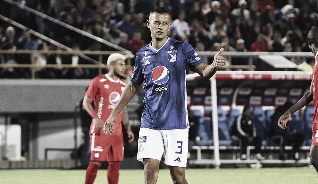 Luciano Ospina sufrió una lesión en su rodilla izquierda