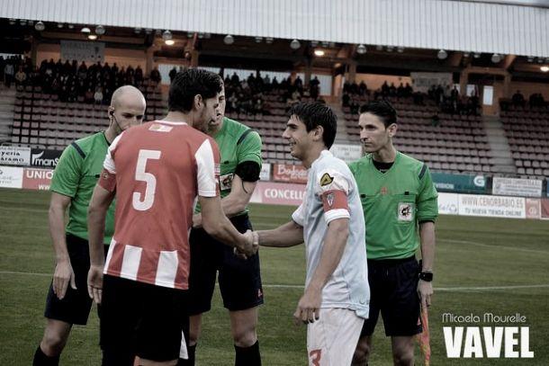 Fotos e imágenes de SD Compostela 4-1 Zamora CF de la jornada 13, Segunda División B Grupo I