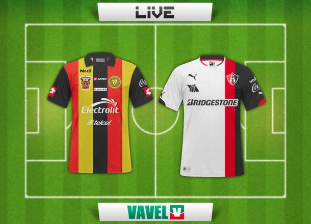 Resultado Leones Negros - Atlas en Liga MX 2015 (0-2)