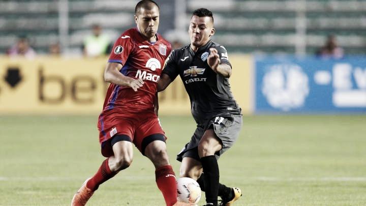 Bolívar 2 - 0 Tigre, partido de marzo. Foto: Web