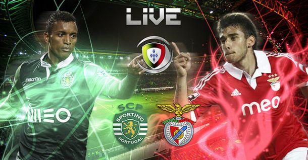 Derby Sporting x Benfica    na Primeira Liga 2015 (1-1)