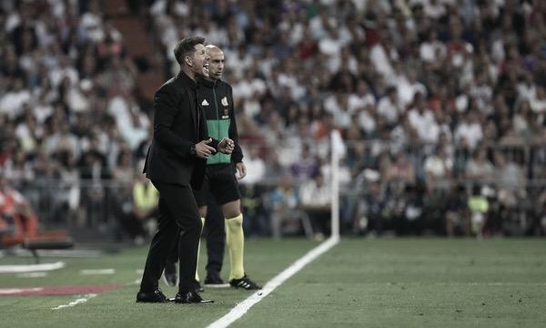 Simeone destaca evolução do Atlético de Madrid na La Liga