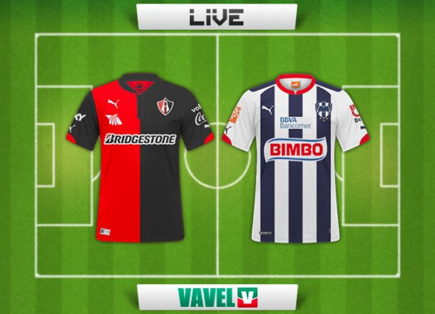 Resultado Atlas - Monterrey en Liga MX 2014 (0-2)