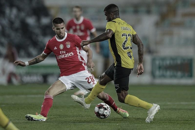 Autor de golaço, Júnior Tavares destaca importância de ponto conquistado contra Benfica