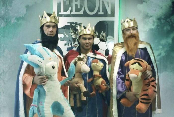 El próximo miércoles llegan los Reyes Magos al Estadio León