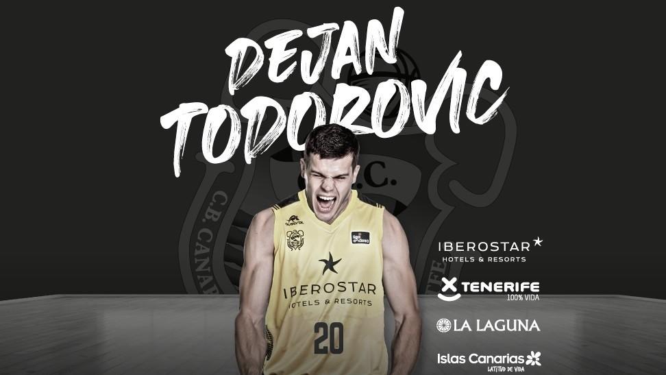 Iberostar Tenerife incorpora músculo con el fichaje de Dejan Todorovic