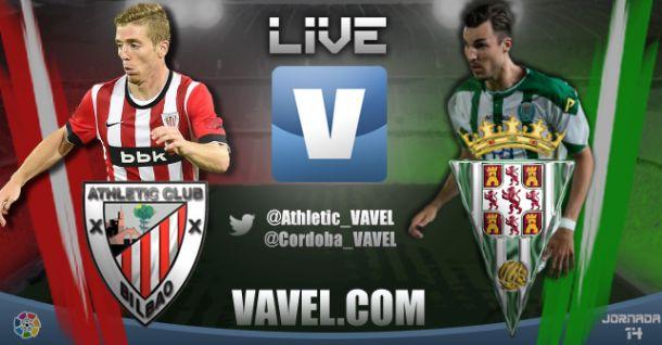 Resultado Athletic Club de Bilbao vs Córdoba (0-1)