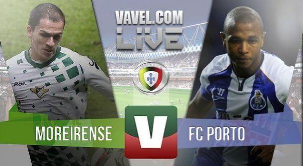 Resultado Moreirense x Porto na Liga NOS (2-2)