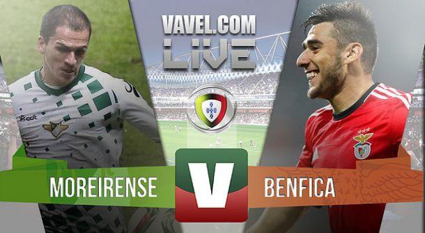 Moreirense x Benfica    na Liga NOS (1-3)