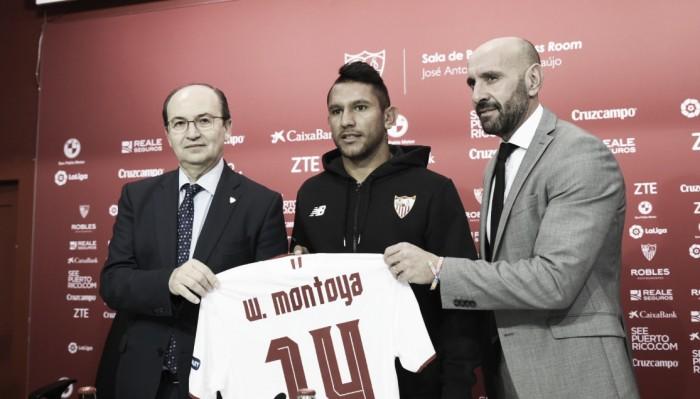 Montoya fue presentado en Sevilla