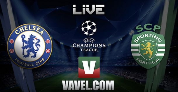 Chelsea x Sporting    na Liga dos Campeões