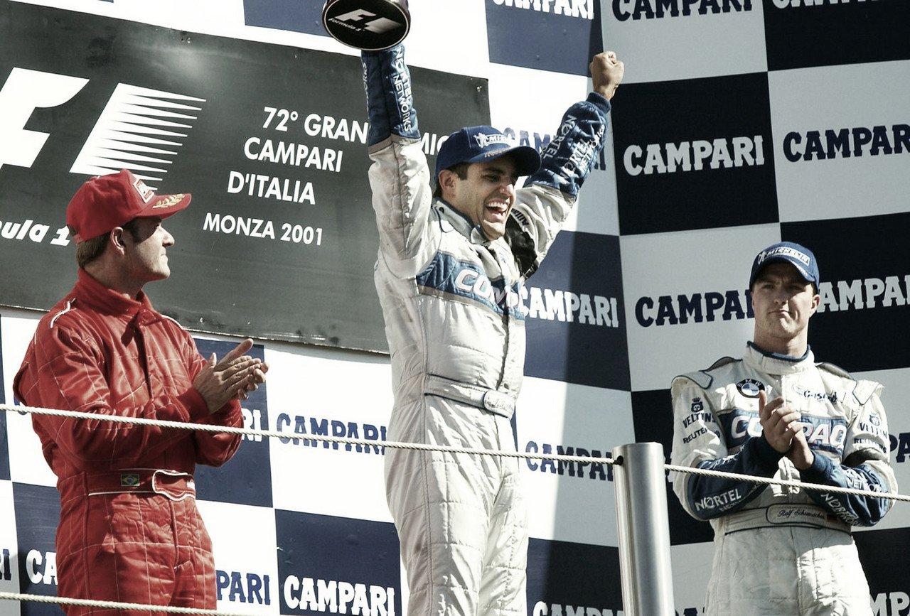 20 años de Monza, el primer hito de Juan Pablo Montoya en la Fórmula 1