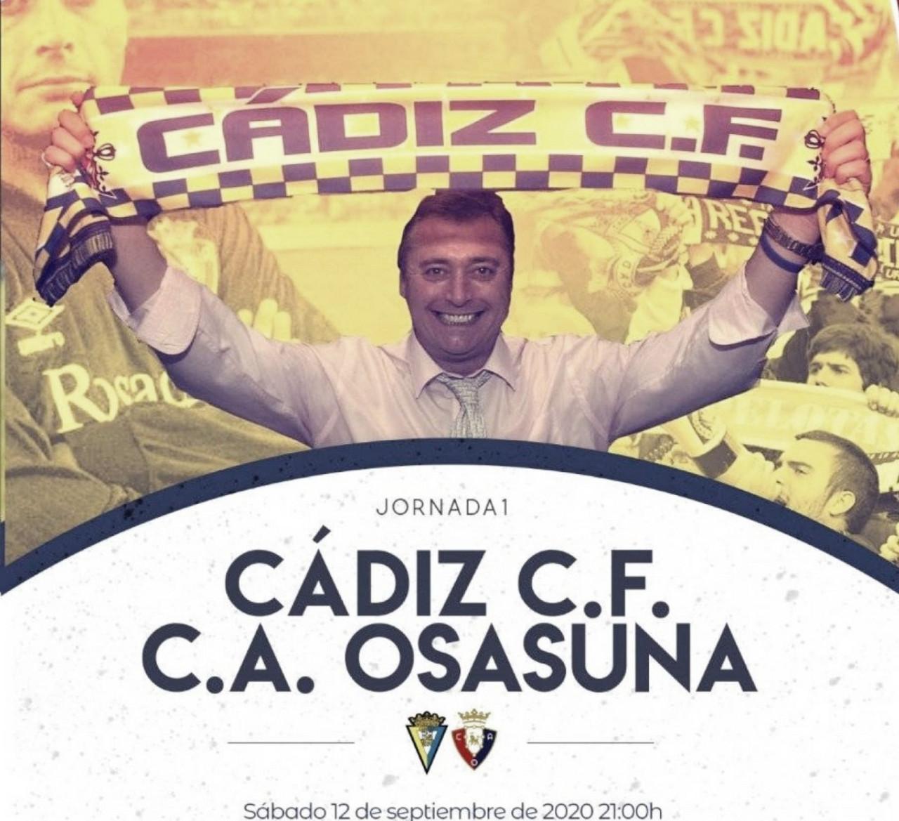 Sin Chimy, Darko ni Villar, en Cádiz para ganar.