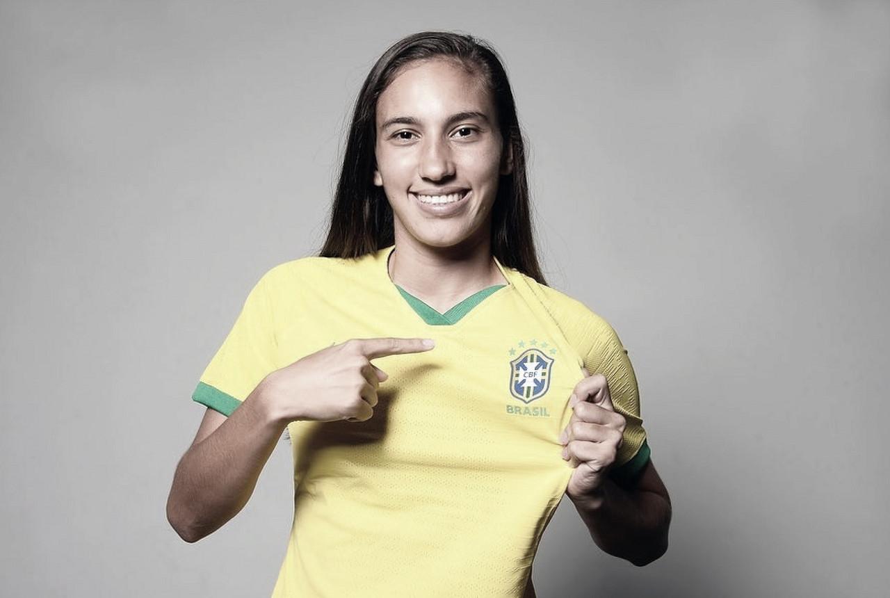 Exclusivo: zagueira Camila fala sobre realizar sonhos com a camisa da Seleção