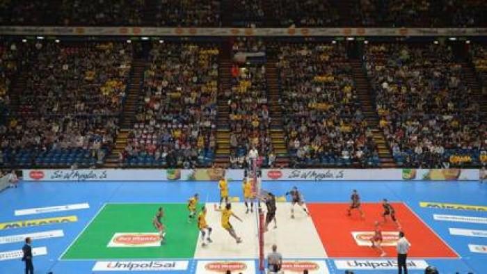 Volley M, Del Monte Coppa Italia: Modena batte Perugia 3-1 nella prima semifinale e conquista la Finale