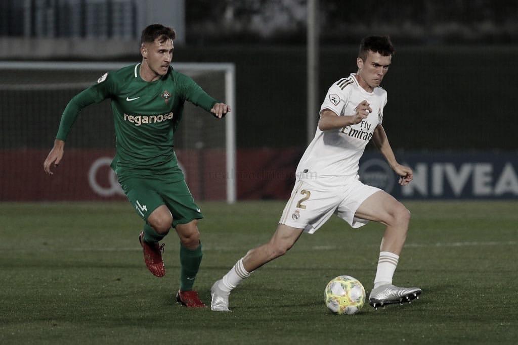 Sergio López, precisión y desborde al servicio del Real Valladolid Promesas