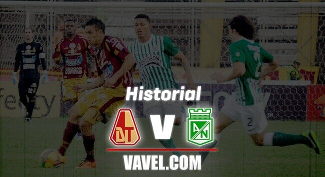 Historial: amplia ventaja de Atlético Nacional sobre Deportes Tolima en los números