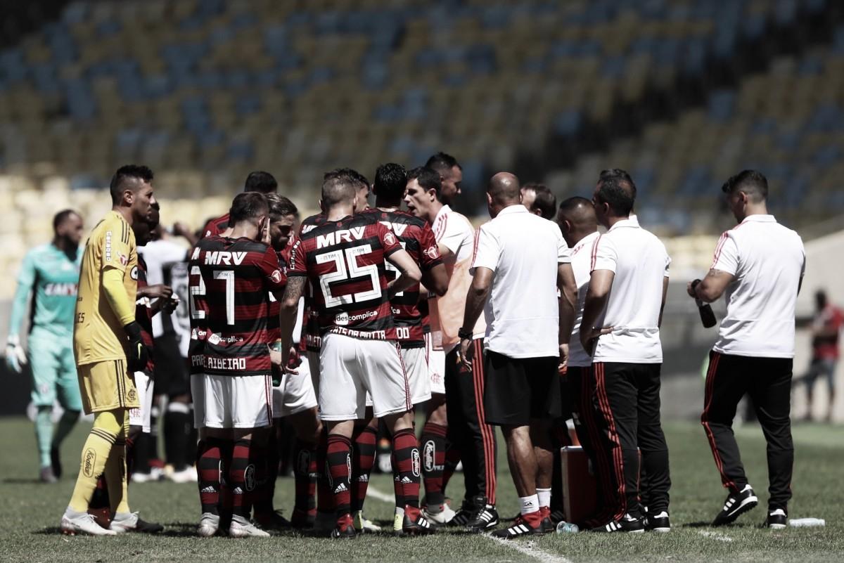 """Barbieri mostra indignação com derrota do Flamengo em casa: """"Dura, difícil e inadmissível"""""""